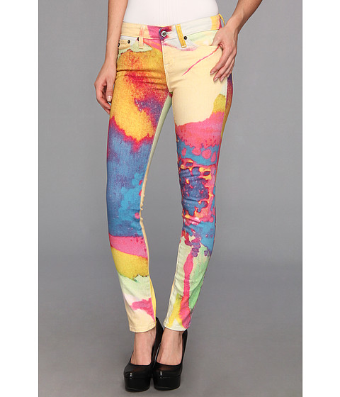 Blugi Big Star - Alex Mid Rise Skinny in Surreal - Surreal