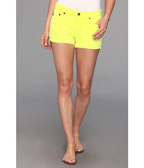 Pantaloni Big Star - Alex Short in Neon Yellow - Neon Yellow