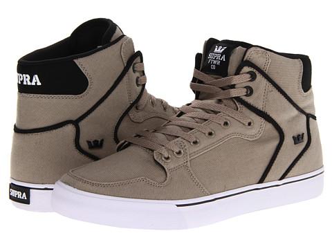 Adidasi Supra - Vaider - Cobblestone/Black/White