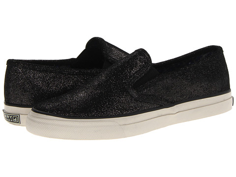 Adidasi Sperry Top-Sider - CVO Twin Gore - Black Sparkle Suede