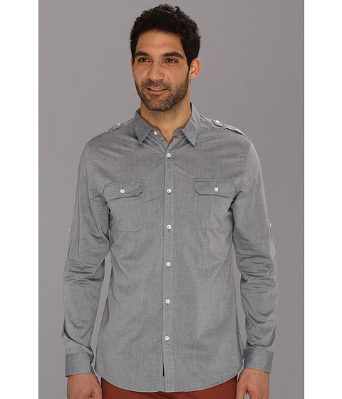 Camasi DKNY - L/S Chambray Shirt - Blue