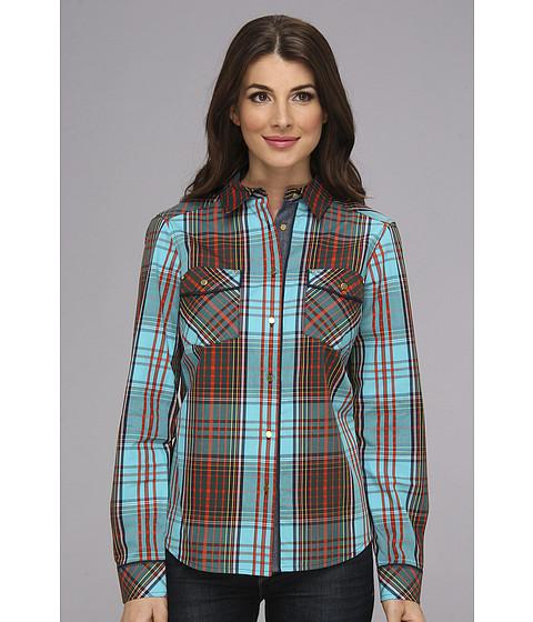 "Camasi Jones New York - Two-Pocket Shirt 26\"" - Cyan Combo"