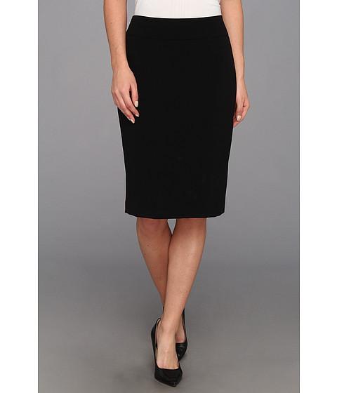 Fuste Nine West - Bi Stretch Straight Skirt - Black