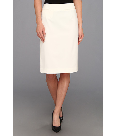 Fuste Calvin Klein - Straight Pencil Skirt - Cream