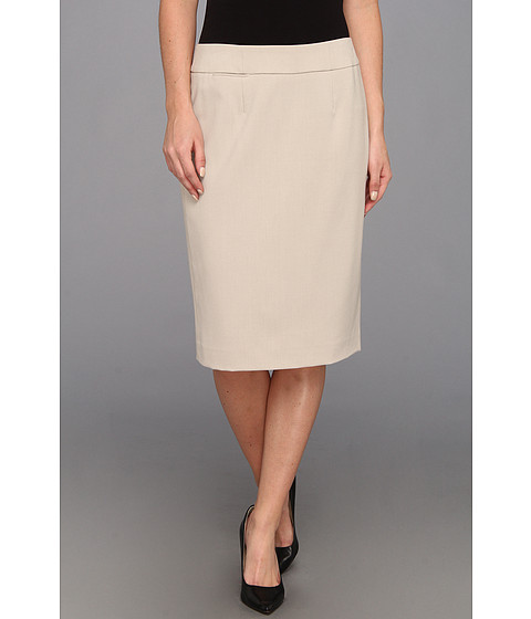 Fuste Calvin Klein - Straight Pencil Skirt - Khaki