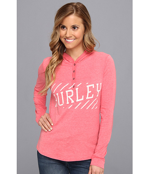 Bluze Hurley - Pace Pullover Hoodie - Hot Red