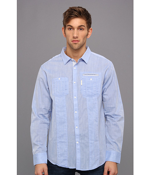 Camasi ECKO - Mandrake Shirt - Sky Dive Blue 2