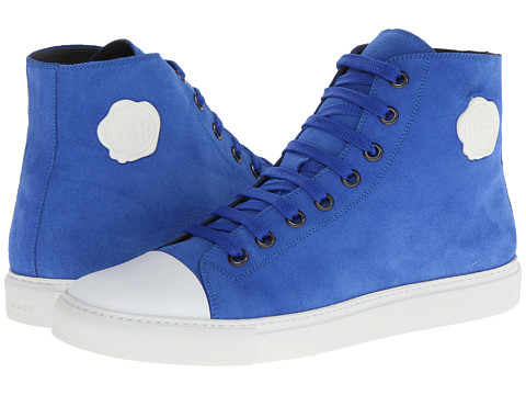 Adidasi Viktor & Rolf - Suede High Top Trainer - Electric Blue