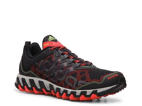 Pantofi adidas - Vigor 4 TR Trail Running Shoe - Mens - Black/Red/Grey/Green
