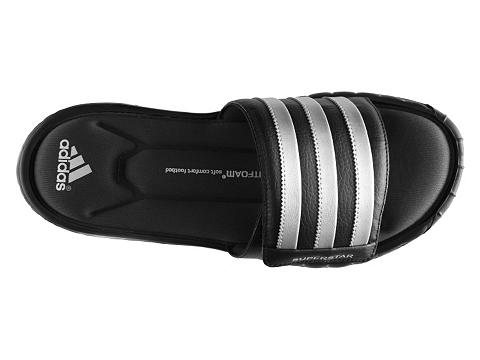 Pantofi adidas - Superstar 3G Slide Sandal - Black/Silver