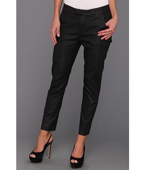 Pantaloni 7 For All Mankind - Slim Chino in Coated Black - Coated Black