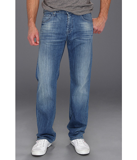 Blugi 7 For All Mankind - Austyn Relaxed Straight in Washed Out - Washed Out