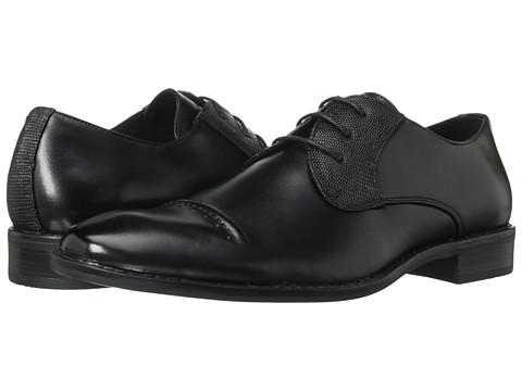 Pantofi Stacy Adams - Huntley - Black Leather