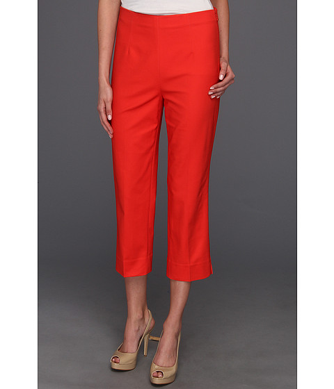 Pantaloni NIC+ZOE - Caliente The Perfect Pant - Side Zip Crop - Hot Salsa