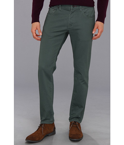 Pantaloni Ted Baker - Over Dyed Slim Fit Jean - Pale Green
