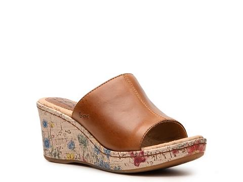 Sandale b.o.c - Deanna Wedge Sandal - Cognac