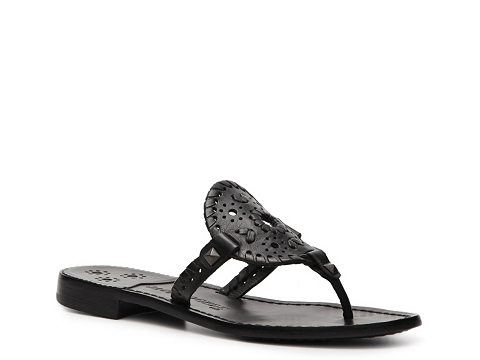 Sandale Jack Rogers - Georgica Flat Sandal - Black