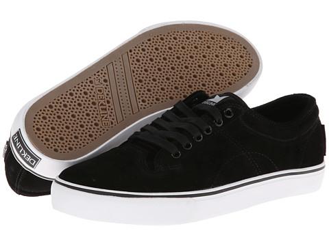 Adidasi Dekline - Bennett - Black/White Suede