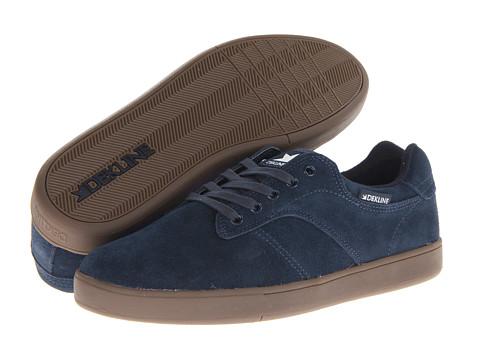 Adidasi Dekline - Dalton - Navy/Gum Suede