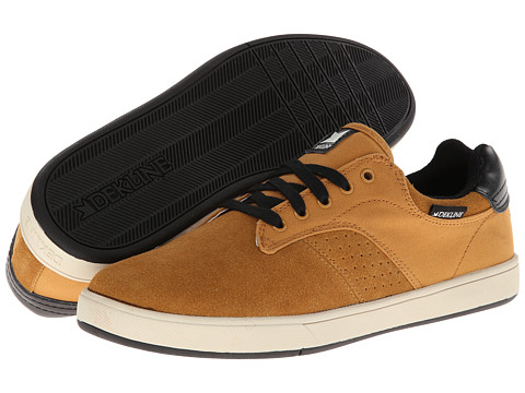 Adidasi Dekline - Dalton - Golden Brown/Black Suede