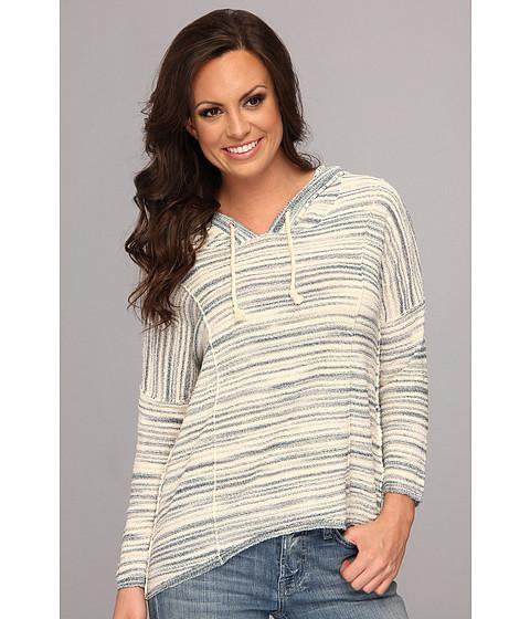 Bluze Lucky Brand - Malibu Stripe Hoodie - Blue Multi