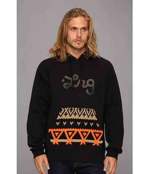 Bluze L-R-G - Alpiner Pullover Hoody - Black