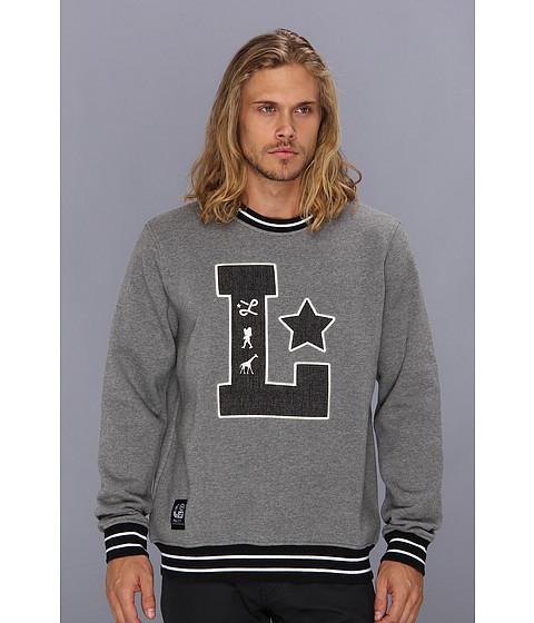 Bluze L-R-G - Big L Crewneck Sweatshirt - Charcoal Heather