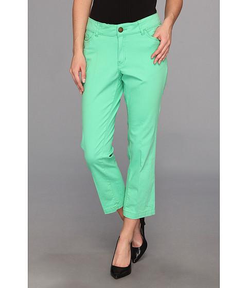 Pantaloni Caribbean Joe - 5 Pocket Colored Crop - Caribe Green