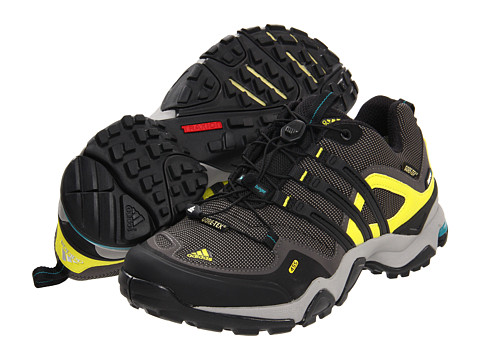 Adidasi adidas - Terrex Fast X GORE-TEX® - Dark Cinder/Black/Lab Lime