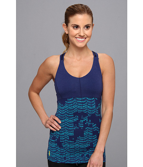 Bluze Lole - Warrior Tank Top - Blue Print Lace