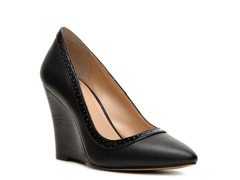 Pantofi BCBG Paris - BCBGeneration Erikka Wedge Pump - Black