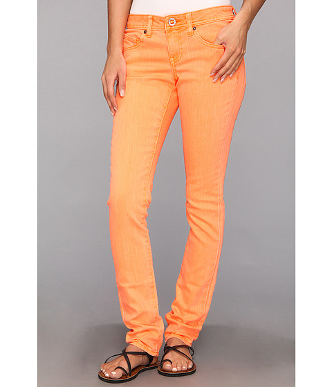 Blugi Volcom - Soundcheck Super Skinny Jean - Orange