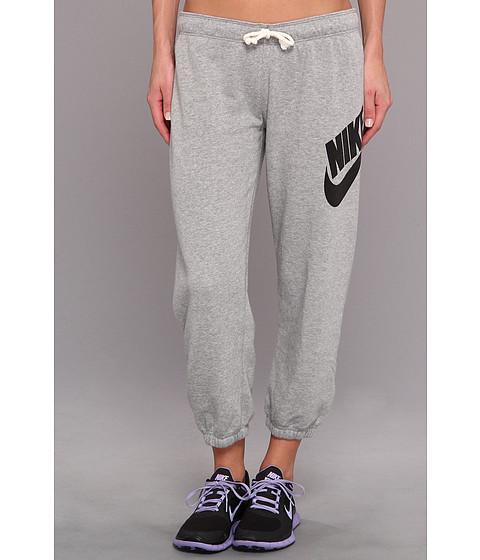 Pantaloni Nike - Rally Signal Capri - Dark Grey Heather/Black