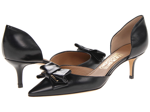 Pantofi Salvatore Ferragamo - Rietta - Nero 1