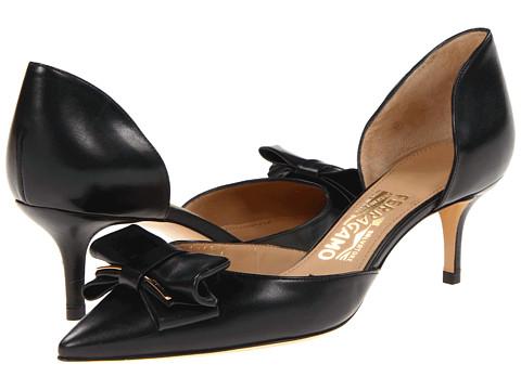 Pantofi Salvatore Ferragamo - Rietta - Nero