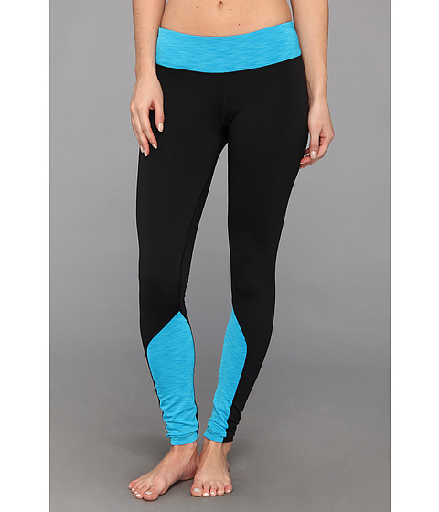 Pantaloni Under Armour - UA ColdgearÃ'® Cozy Tight - Black/Pirate Blue/Black