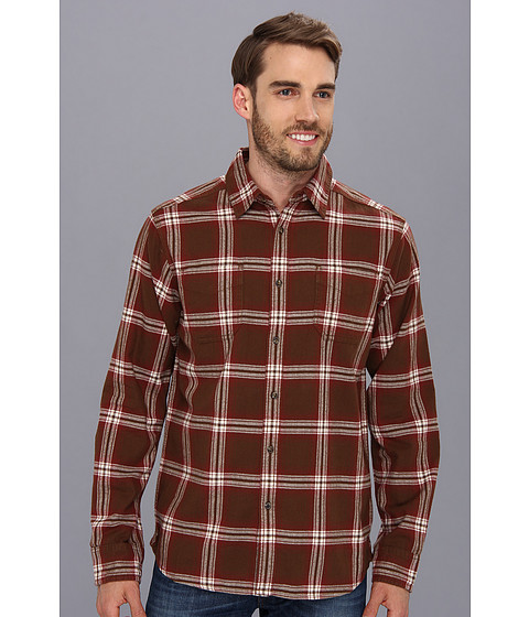 Camasi The North Face - L/S Brotula Flannel - Burrow Brown