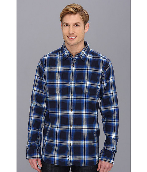 Camasi The North Face - L/S Brotula Flannel - Cosmic Blue