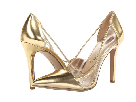 Pantofi Jessica Simpson - Calkins - Gold-Clear Liquid Metallic