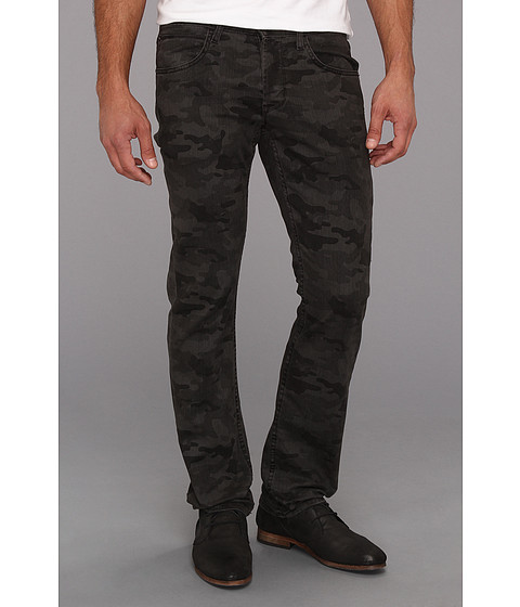 Blugi Hudson - Byron Straight in Charcoal Camo - Charcoal Camo