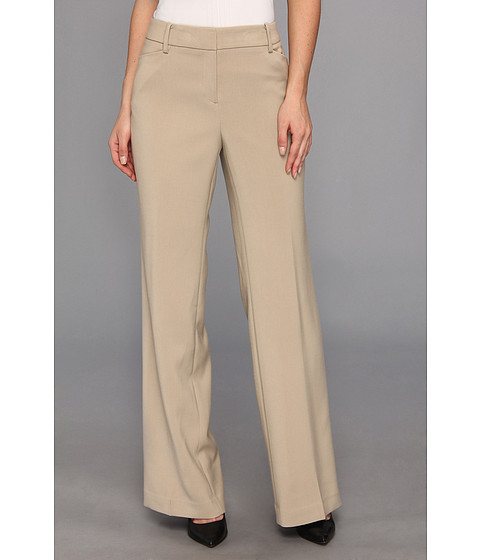 Pantaloni Jones New York - Modern Fit & Flare Pant w/ Belt Loops - Rye