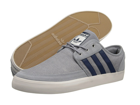 Adidasi adidas - Seeley Summer - Mid Grey/Uniform Blue/Chalk 2