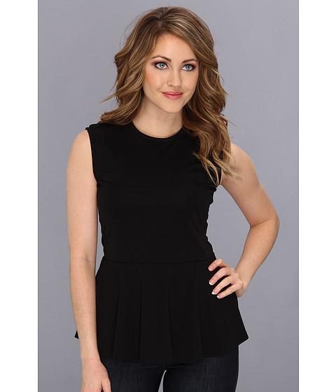 Bluze Nicole Miller - Peplum Top - Black