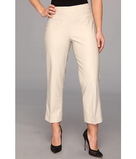 Pantaloni NIC+ZOE - Petite The Perfect Pant Side Zip - Bright Silver