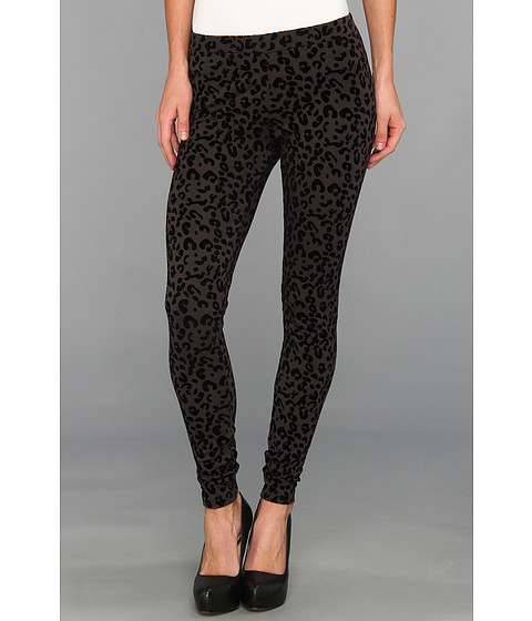 Pantaloni C&C California - Flocked Cheetah Legging - Phantom