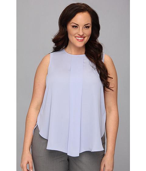 Bluze Vince Camuto - Plus Size Center Pleat S/L Blouse - Pale Freesia