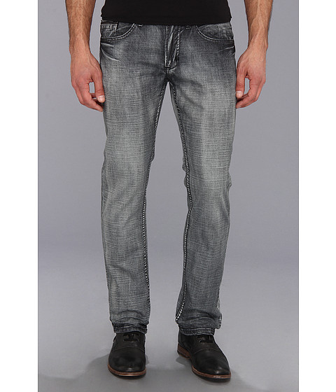 Blugi Buffalo David Bitton - Evan Slim Straight in Extreme Wash - Extreme Wash