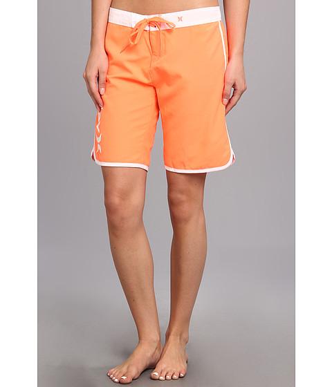 "Costume de baie Hurley - Supersuede Solid 9\"" Beachrider - Bright Mango"