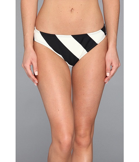 Costume de baie DKNY - Chic Stripe Classic Bottom - Black