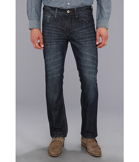 Blugi Buffalo David Bitton - Driven Straight Leg in Distressed & Worn - Distressed & Worn